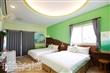 302綠色船板4人房