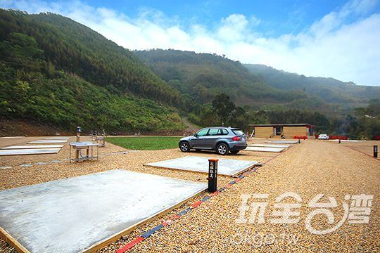 水泥營位區 相片來源:新竹內灣尖石・臻美營地