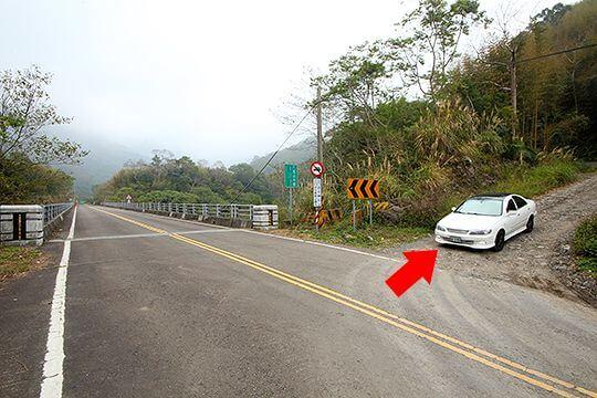 交通指引圖 相片來源:新竹內灣尖石・臻美營地