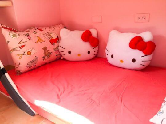 粉紅小貓咪(甜蜜雙人房)