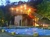 園區內部兒童戲水池