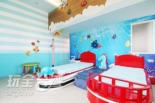 兒童王國館--海洋世界 相片來源:兒童王國&宜人生活|宜蘭親子溜滑梯民宿