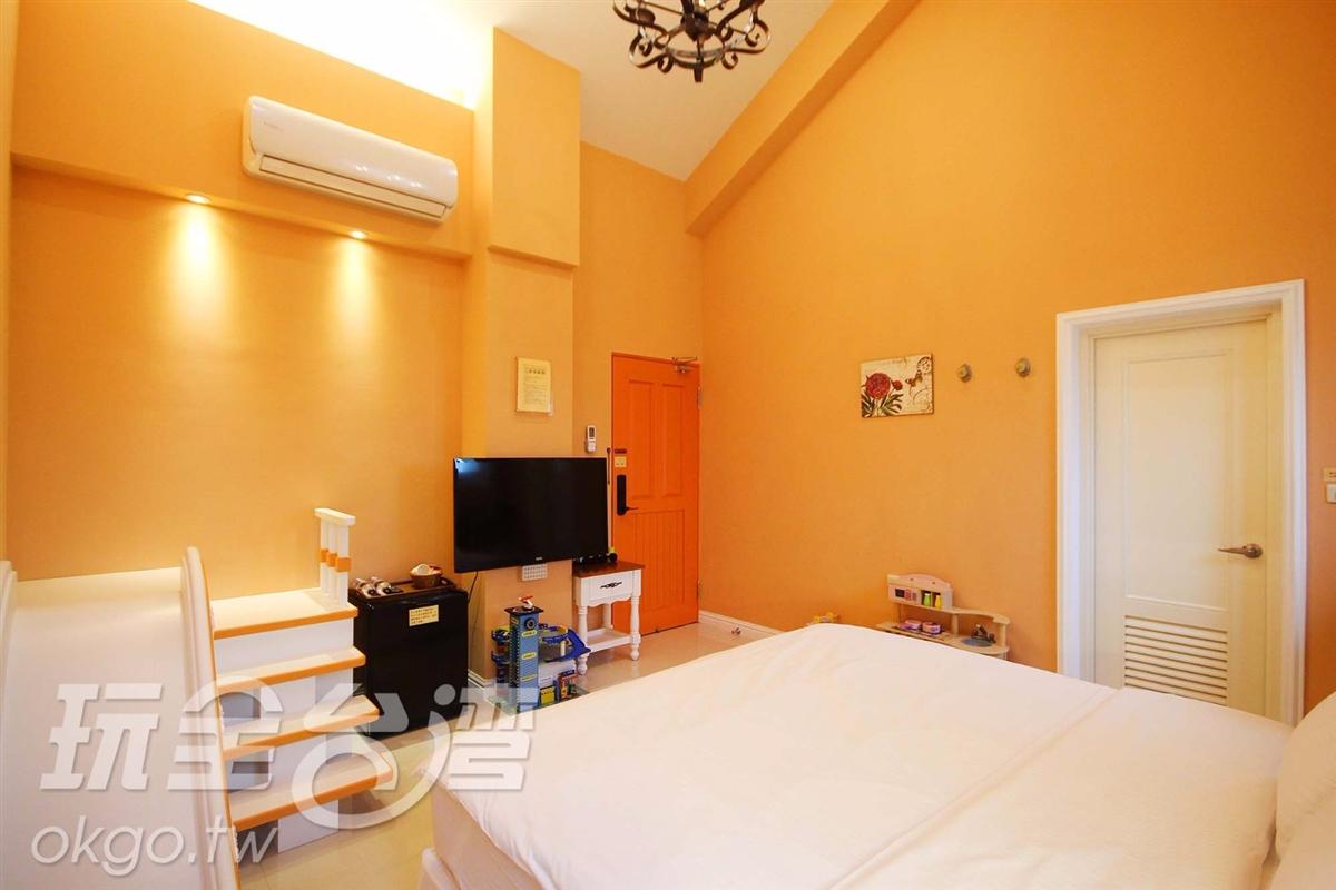 *2F橙色雙人房