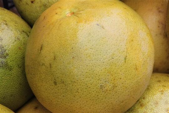 寶柚平安製作過程 相片來源:草前茶業文化