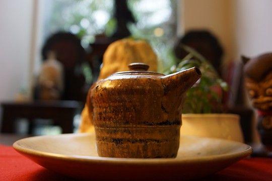 章格銘老師才燒手作茶壺