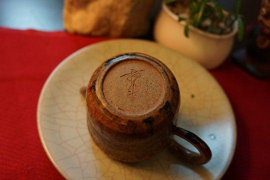 章格銘老師柴燒手作茶壺