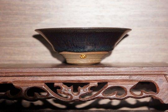 相片描述:江玗老師天目茶盞(手作玗字款)