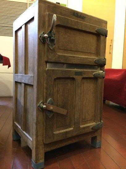 日本老冰箱