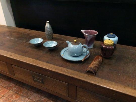 古董長茶桌