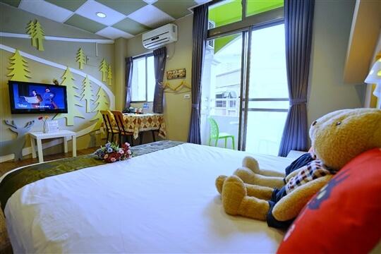 建國館-童話森林2人房 相片來源:花蓮愛戀屋民宿