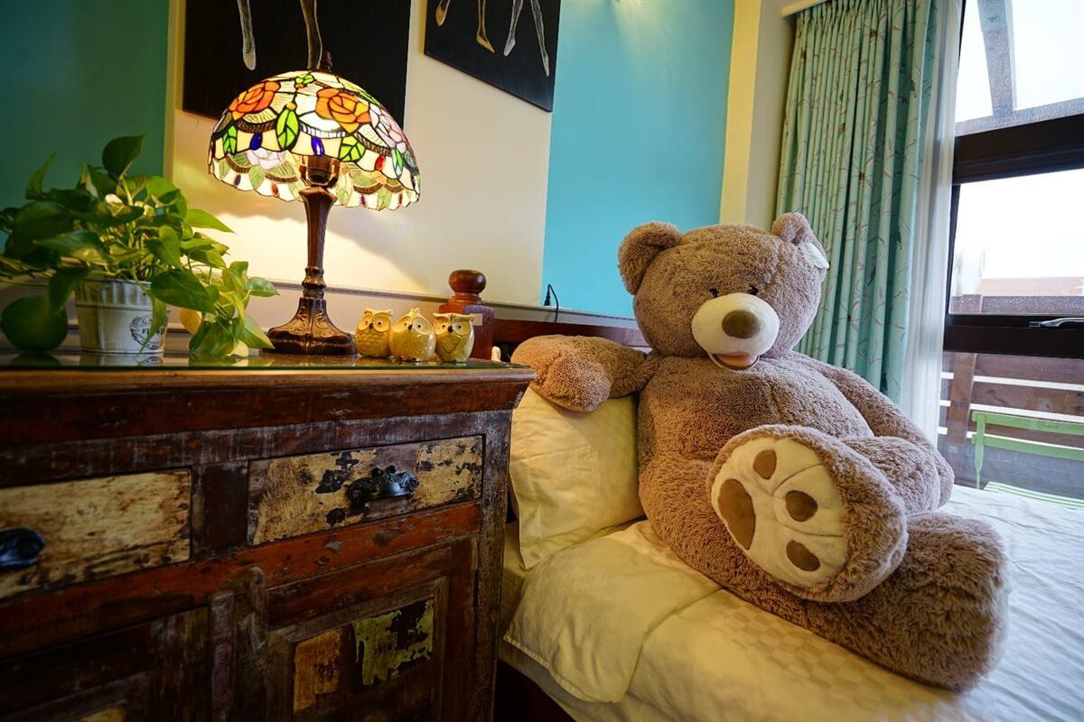 熊熊館-熊熊遇見你4人房 相片來源:花蓮愛戀屋民宿