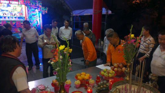 大眾爺廟祭典活動 相片來源:財團法人台中市水安宮