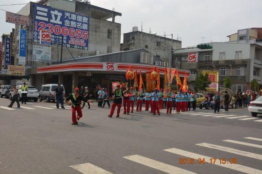 丙申年五路財神遶境 相片來源:財團法人台中市水安宮