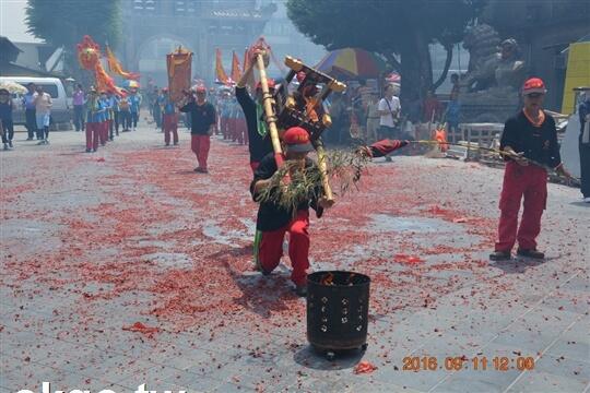丙申年三府王爺遶境 相片來源:財團法人台中市水安宮
