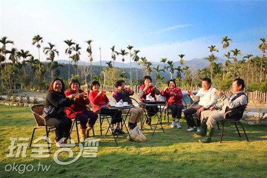 悠閒午茶時光 相片來源:日月潭貴夫人渡假民宿