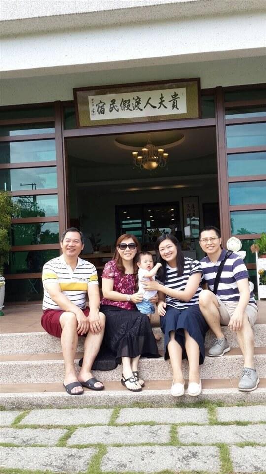 好朋友旅行記錄 相片來源:日月潭貴夫人渡假民宿