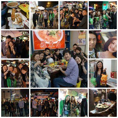 2012.03.18~19香港朋友們! 相片來源:羅東夜市‧幸福Yes