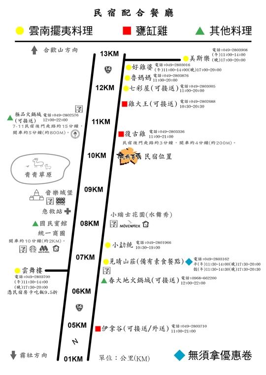 清境楓丹白露民宿