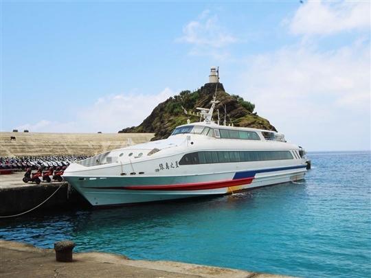 台東/後壁湖-蘭嶼來回船票,2小時抵達蘭嶼。