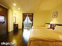 杉風景觀雙床客房