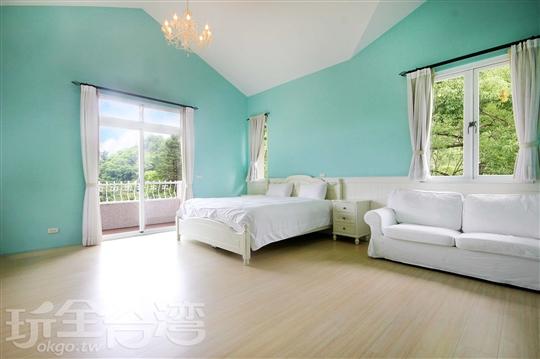 豪華二人房  301 Tiffnay藍