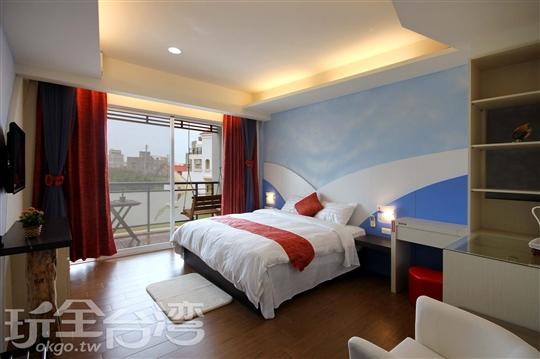 206 海鳥二人房~可變換2張單人床(請於住宿前提出)