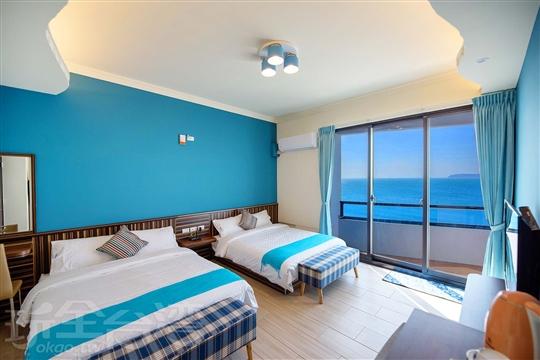 301陽台海景標準四人房