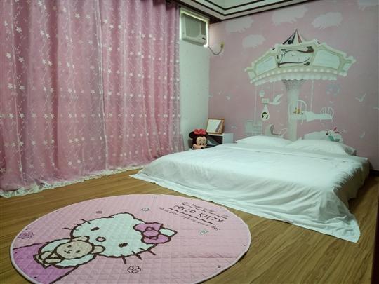 親子館A房~夢幻粉紅二人房