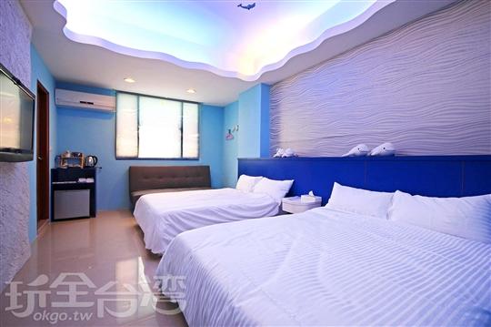 2B 蔚藍海洋/四人房
