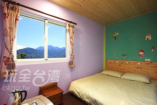 雙人房-湖水綠/檸檬紫