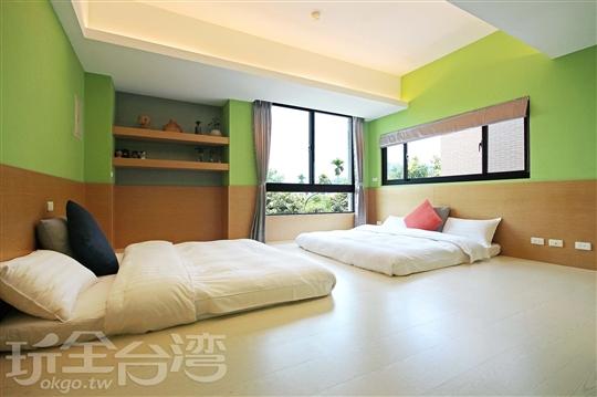 3F 綠森林/4人房