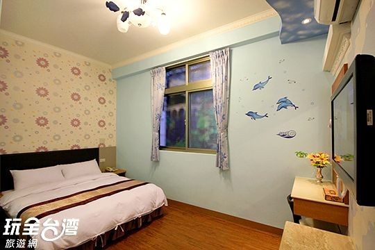 203 碧海藍天/二人套房