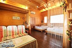 4~8人樓中樓小木屋