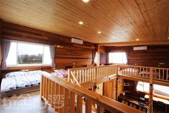 18人樓中樓包棟木屋