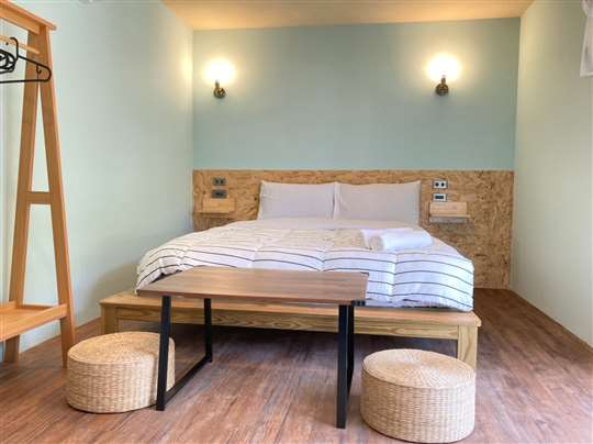 獨棟木屋-含露臺-雙人房型