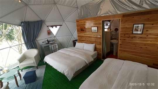 豪華露營4人帳篷套房