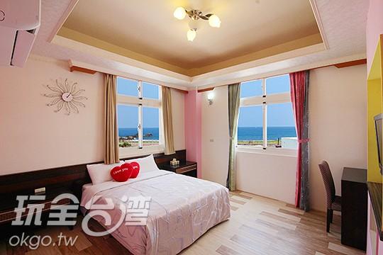 1.海景雙人房