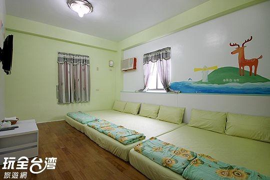 207-綠島風情和室房(可住6人)