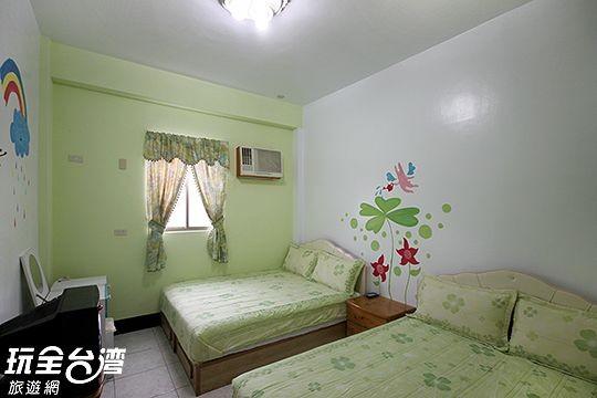 205-綠色芬多精四人房