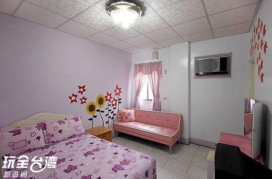 106-浪漫紫戀雙人房(或3人房)