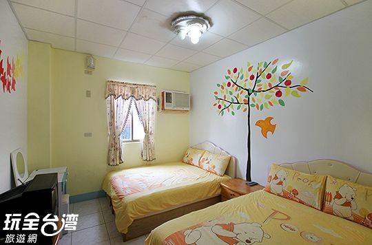 105-溫馨維尼四人房