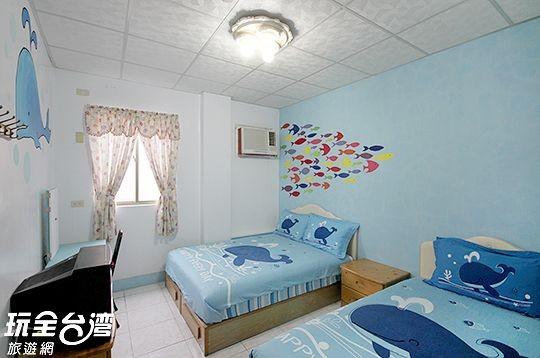102-藍海奇緣3人房