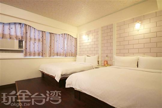 家庭溫馨套房(2張双人床)