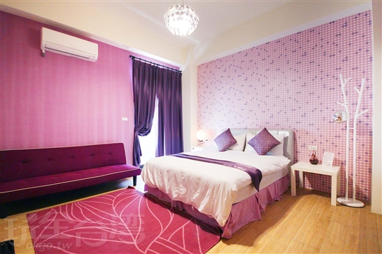 紫色標準雙人房202