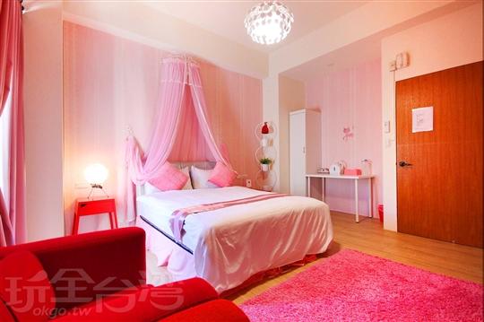 粉紅標準雙人房302