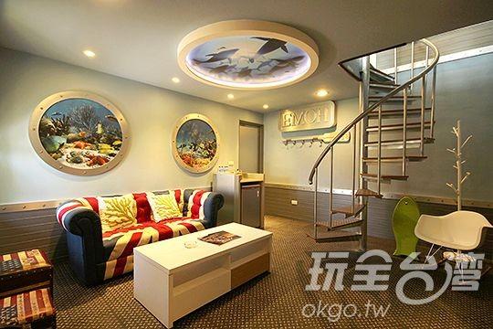 主題式新房/樓中樓6人房