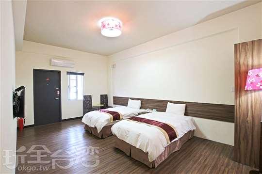 標準雙人房(2小床)