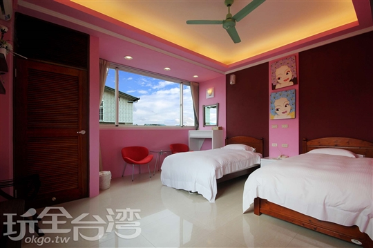 A301 雙人套房(2單床)