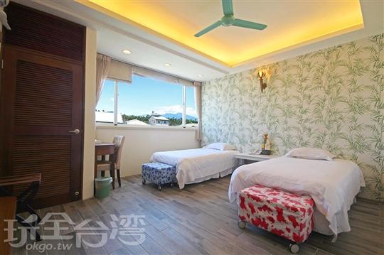 C301 雙人套房(2單床)