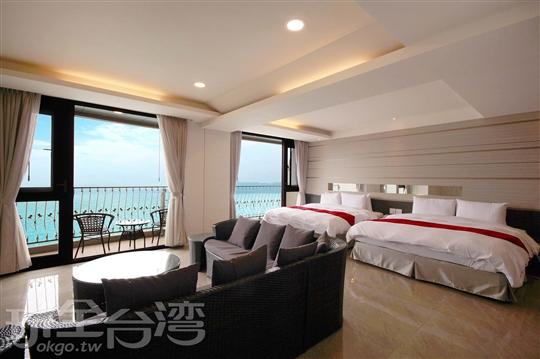 VIP湖景4人房(高樓層)